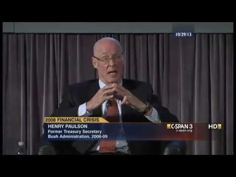 Bethany McLean Revisits the 2008 Economic Crisis with Hank Paulson (2013)