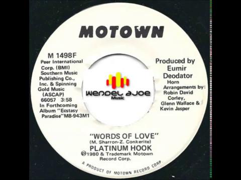 Platinum Hook - Words Of Love