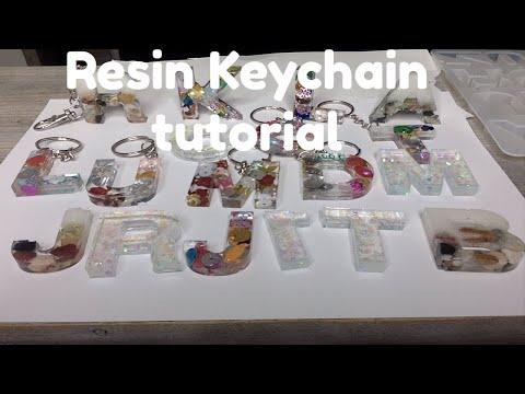 Watch Me Resin For Beginner's | Keychain Tutorial | RoseJayCreates