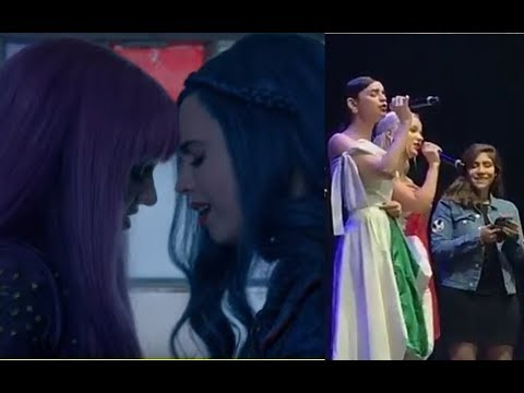 Descendants 2 - Dove Cameron and Sofia Carson Sing Space Between in Mexico