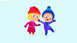 ЗИМНЯЯ песенка - Провожаем зиму! - Мультики для детей - Сборник