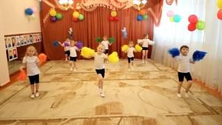 Урок хореографии в старшей группе