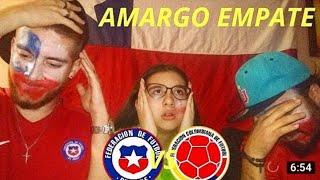 Chile vs Colombia 2-2   Reacción de Hinchas