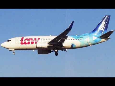 Farewell LAW Boeing 737-33R [CC-ARQ] | Landing in Santiago Airport SCL