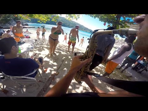 GoPro Sax - Beach party by Rene Junior