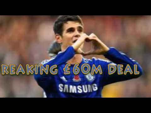Chelsea news: Blues 'ready' to sell Oscar to Shanghai SIPG in record breaking £60m deal