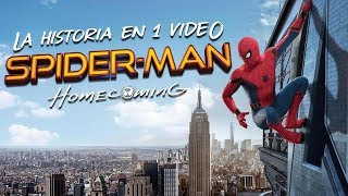 Spider-Man Homecoming: La Historia en 1 Video #CaminoAEndgame