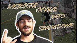 Lacrosse Goalie Reps | Film Breakdown
