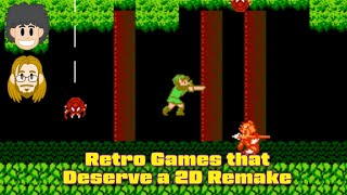 Retro Games that Deserve a 2D Remake