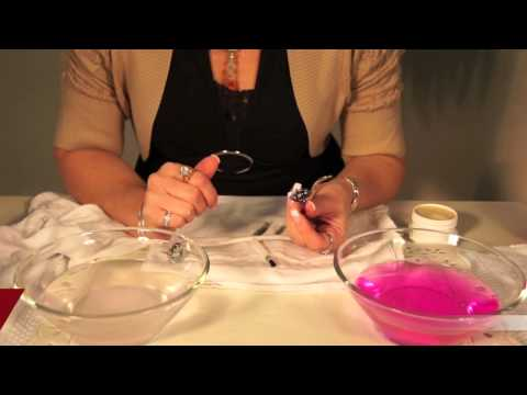 jewelry cleaning demo