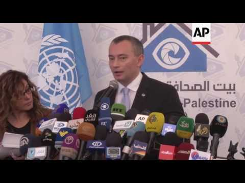 UN envoy fears Hamas may obstruct Gaza rebuild