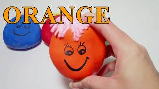 Learn Colors For Children! Popping Balloons & Songs For Babies