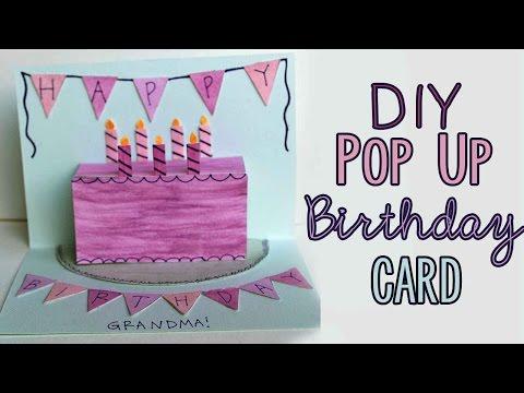 DIY Pop Up Birthday Card