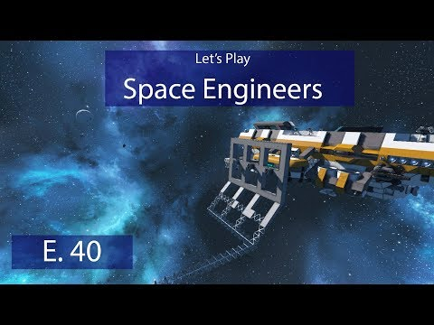 Military Drydock - Ep. 40 - Drydock Foundations! - Let's Play Space Engineers