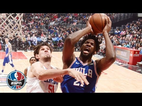 Tensions run high and ejections fly in 76ers' win vs. Clippers | NBA Highlights