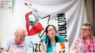 Presentación de Espontaneidad y acción (Rosa Luxemburgo) con Jorge Altamira, José Castillo y M Kabat
