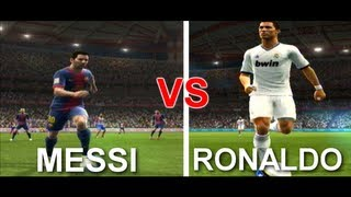 PES 2013 - Messi vs Cristiano Ronaldo(Hi guys, leave a comment below and say which is your favorite ! Ronaldo or Messi ?, 2012-10-12T09:41:18.000Z)