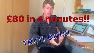 £80 in 4 minutes? Try this roulette system out, it might make you a LOT of money!