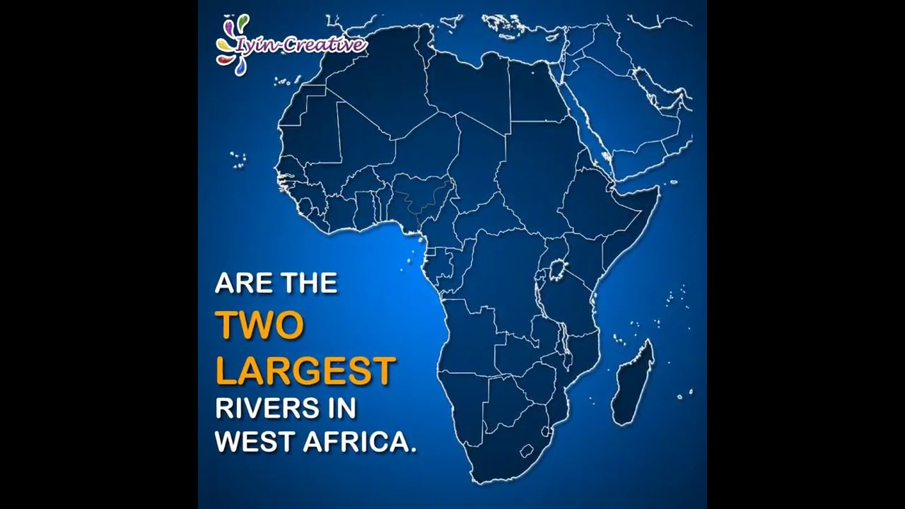 Benue River Africa Map.Nigeria Facts 5 Rivers Niger And Benue Youtube