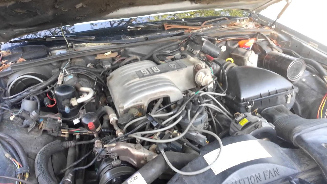 medium resolution of 1987 lincoln town car not starting 2