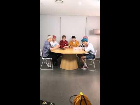 170822 NCT DREAM weibo live