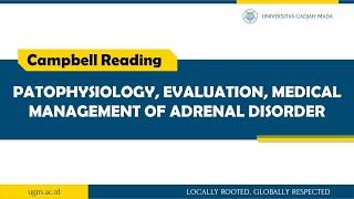 Biology of DSDs (4) Congenital Adrenal Hyperplasia.
