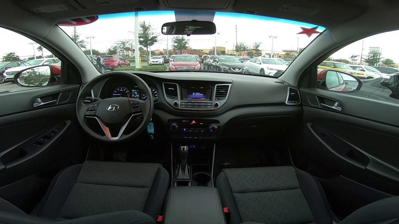 2017 Hyundai Tucson Se Interior