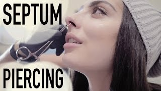 One of Brittany Balyn's most viewed videos: SEPTUM PIERCING | BRITTANY BALYN