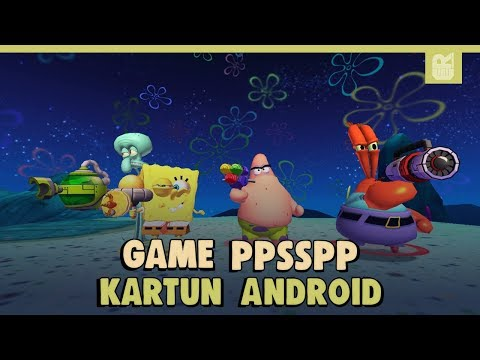 5 Game PSP Kartun Terbaik | PPSSPP Emulator