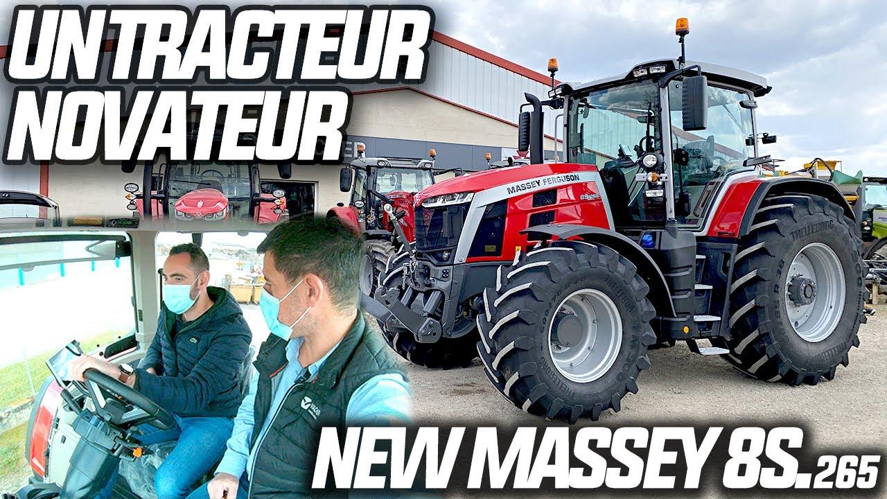 Download J'AI TESTÉ LE PLUS GROS DES NOUVEAUX MASSEY 8S !!! 😍 (Découverte totale du tracteur)