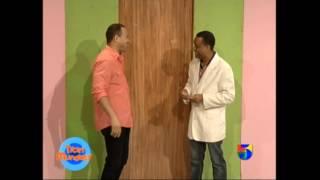 Hugo el Mega divu en Parodia Titiry Mundaty Telemicro TV - Canal 5 Jarabacoa