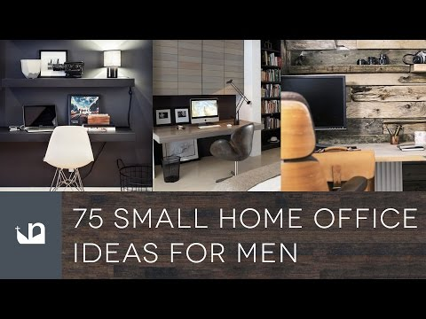 75 Small Home Office Ideas For Men - Design Inspiration