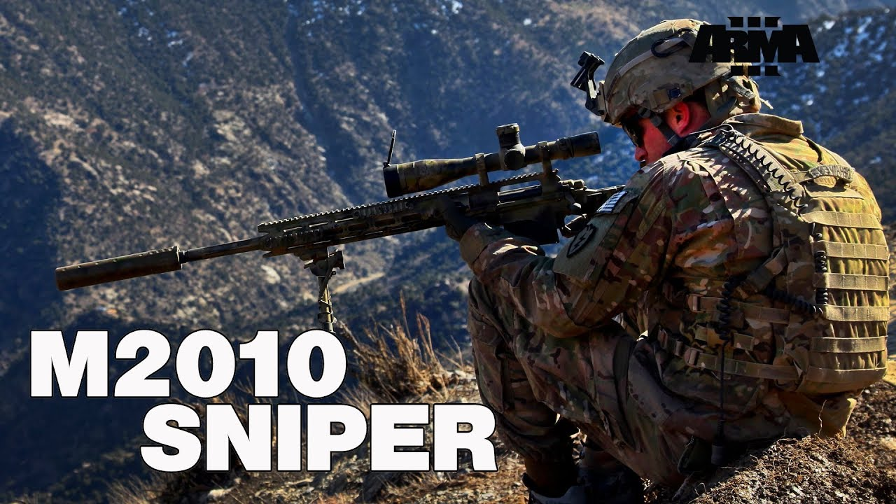 ARMA 3 RHS M2010 Enhanced Sniper Rifle