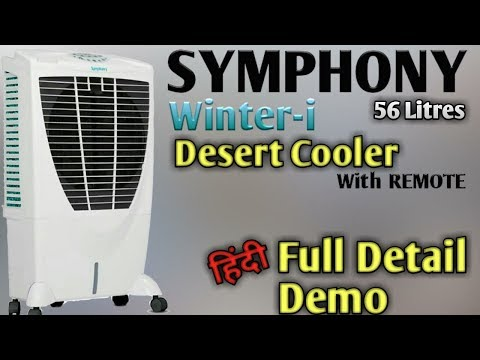 SYMPHONY 'Winter-i' (56 Litres) Desert Air Cooler Complete Details & Demo