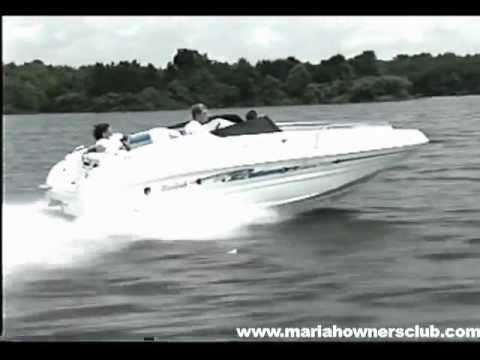 1999 mariah jubilee deckboats promotional video Tiara Boat Wiring Diagram