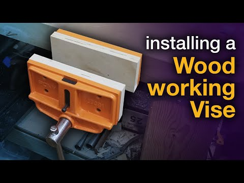 Installing a Woodworking Vise