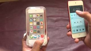 فتح علبه ipod touch 6th generation