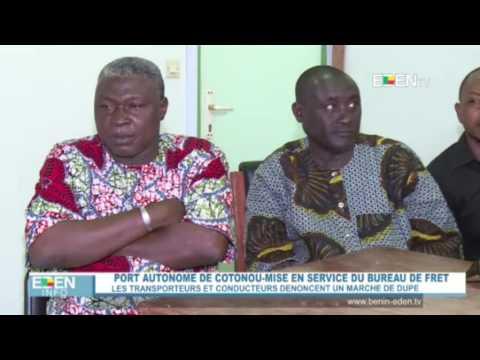 Port autonome de Cotonou: les transporteurs et conducteurs dénoncent un marché de dupe.