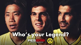 "PES 2018 ""Who's your Legend?"" trailer"