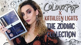 Colourpop x Kathleen Lights THE ZODIAC Collection