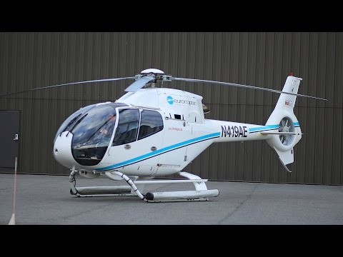 Airbus Eurocopter EC120B Colibri helicopter flight and review + how to fly