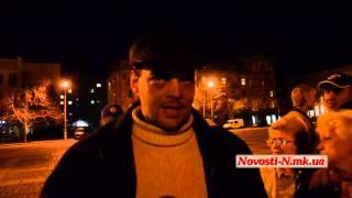 """Видео Новости-N: Активист """"антимайдана"""" о праздновании Дня освобождения Николаева"""