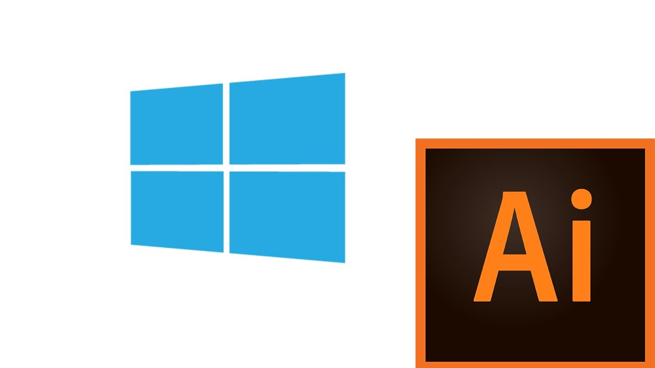 how to design microsoft windows logo in adobe illustrator