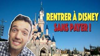Comment rentrer gratuitement à Disneyland - Vous décidez - 133/366