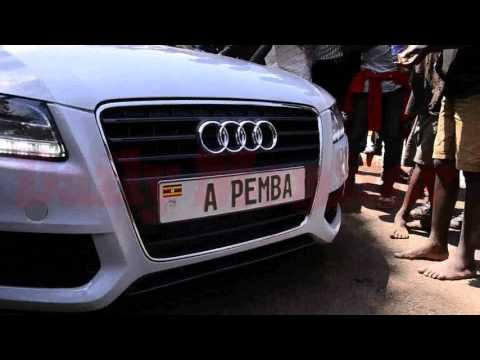 Kampala socialites showcase cars at Semwanga's funeral service