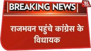 Number Game Begins In Goa Politics, Congress Legislators Reaches Raj Bhawan, BJP Meeting Continues thumbnail
