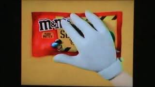 CMGUS VCR CLASSIC COMMERCIALS: ALL M&M'S CANDY MESSAGES ACADEMY OSCAR AWARDS COMMERCIAL MONTAGE 2020