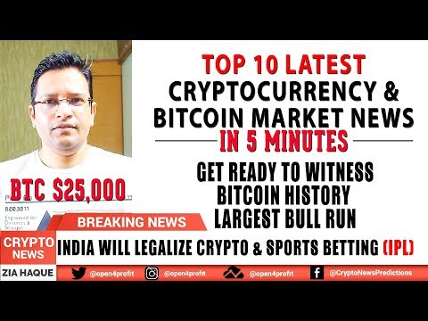 🌶Witness BITCOIN HISTORY - LARGEST BULL RUN SOON. India to legalize Cryptocurrency & Sports Betting