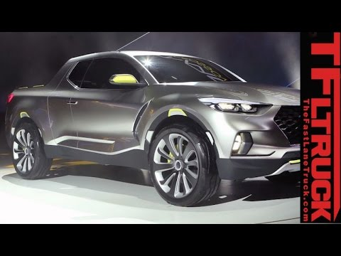 Surprise, a Hyundai pickup Watch Hyundai Santa Cruz Concept truck Revealed