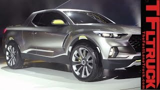 Surprise, a Hyundai pickup: Watch Hyundai Santa Cruz Concept truck Revealed